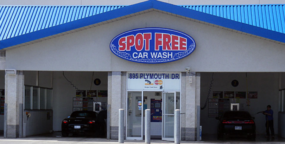 Spot Free Car Wash | Coin-Operated Car Washes in Mississauga